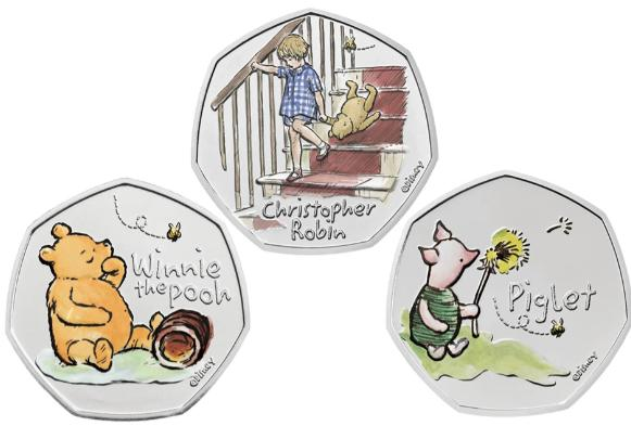 You can now buy a Winnie the Pooh 50p coin - with a full collection coming soon