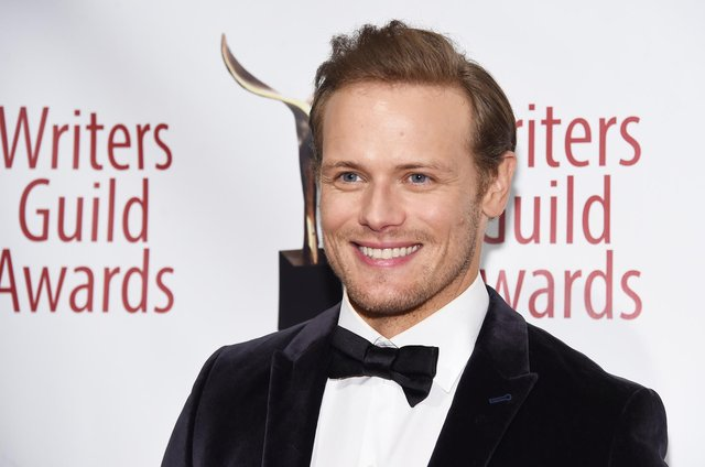 Sam Heughan says he would 'jump' at the chance to play James Bond.