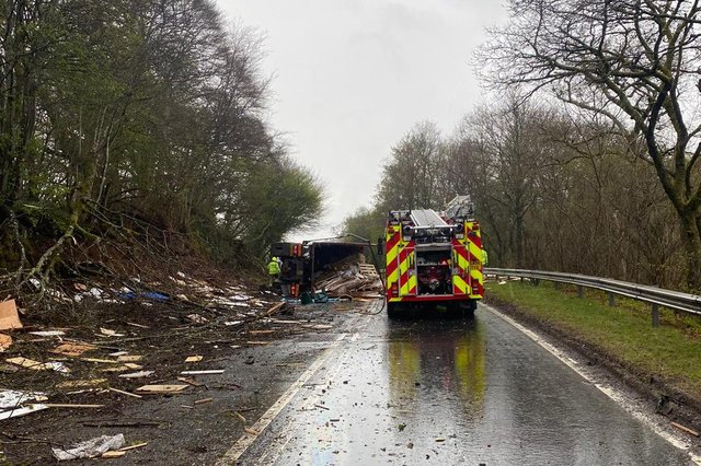 Police arrived at the scene just before 9am on Monday, May 10after receiving a report of a road traffic collision on the A76 south ofSanquhar.