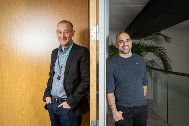 Mark Rushton (left) and Arrash Nekonam are bringing their Aberdeen businesses together in a move which will see them target a £3.5m turnover this year