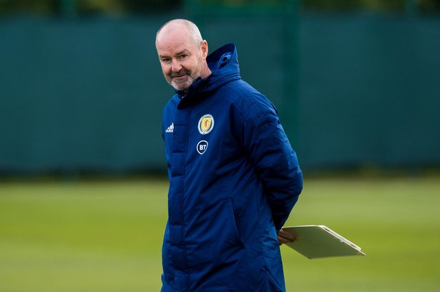 Scotland boss Steve Clarke has named his 26-man squad for Euro 2020. (Photo by Ross Parker / SNS Group)