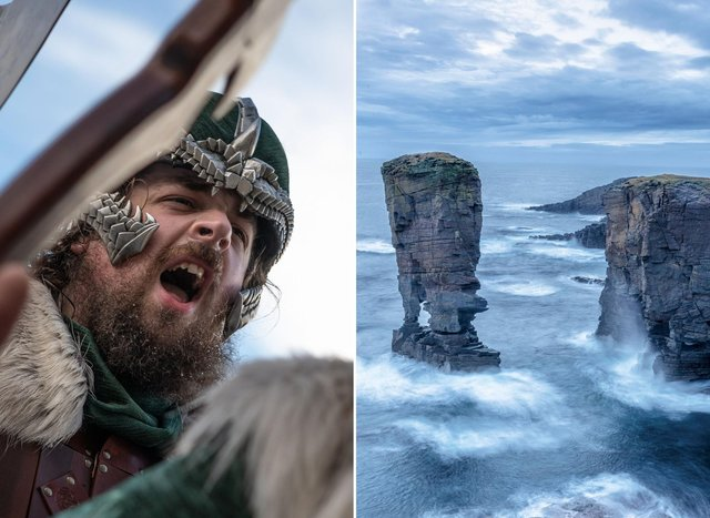 Scotland has a thousand years of history with the Vikings - and Scots still celebrate it to this day