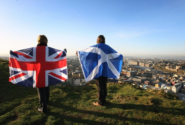 Scotland would have significantly more power over its affairs but stay within the UK, under Professor Marc Weller's proposal for a federal system (Picture: David Cheskin/PA)