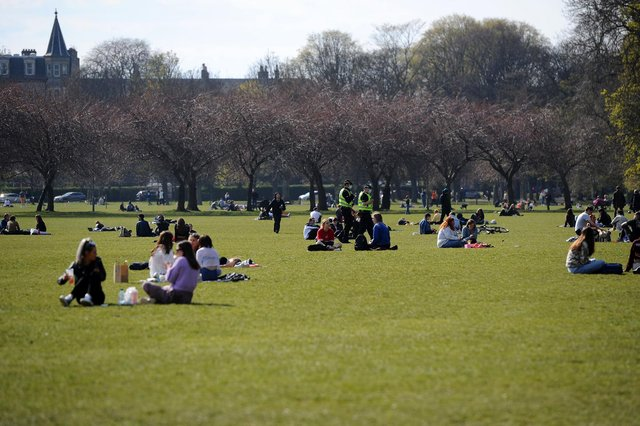 With sunshine and temperatures of around 20C expected for Edinburgh and most of Scotland on Monday, there's no doubt that many Scots will take to the Meadows to make the most of the Spring Bank Holiday.