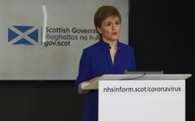 Nicola Sturgeon is due to set out a routemap on Thursday