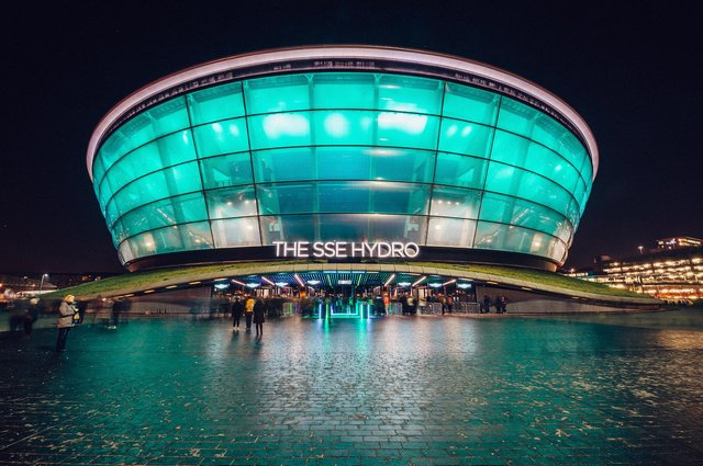 The SSE Hydro arena in Glasgow was named the second busiest live entertainment venue in the world in 2019 - behind Madison Square Garden in New York. Picture: Luke Dyson