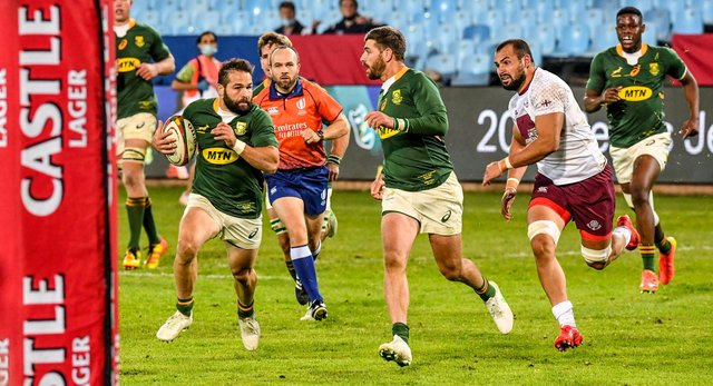 South Africa played Georgia last week and the sides are due to meet again on Friday.