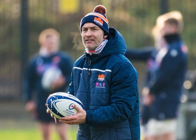 Edinburgh defence coach Calum MacRae. Picture: Ross Parker/SNS