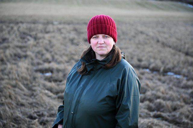 Margaret Cook, a farmer who rents a section of land on Myrehead Farm which was ruined by Union Canal breach speaks out against the 'lack of support' from Scottish Canals.