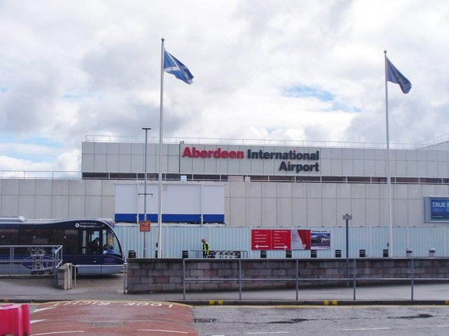 Aberdeen Airport is normally Scotland's third busiest. Picture: Colin Smith/Geograph.