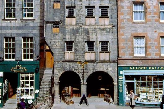 Gladstone's Land, on Edinburgh's Royal Mile, dates back more than 500 years. Picture: Allan Forbes