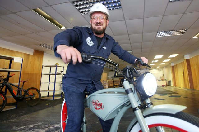 Electric Bicycle Company managing director Neill Hope said cycling had benefited from the Covid lockdowns. Picture: David Cheskin