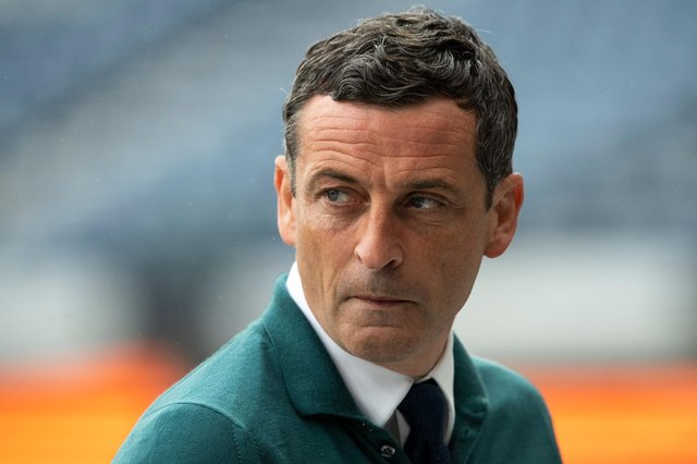 Hibs manager Jack Ross is just one game away from delivering one of the Easter Road club's most successful seasons. Photo by Ross Parker / SNS Group