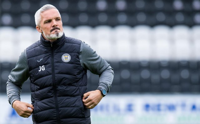 St Mirren manager Jim Goodwin has seen disruption at his club on four occasions due to Covid-19. Picture: SNS