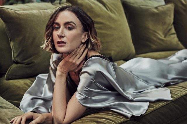 Katherine Kelly, who stars in ITV's Innocent  Photographer: Robert Harper Styling: Michelle Kelly Hair and makeup: Charlotte Yeomans