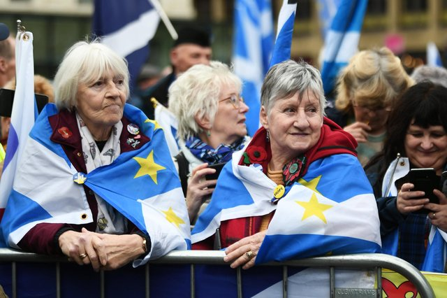 Politics needs to be about more than a battle of the flags, of whatever design (Picture: John Devlin)