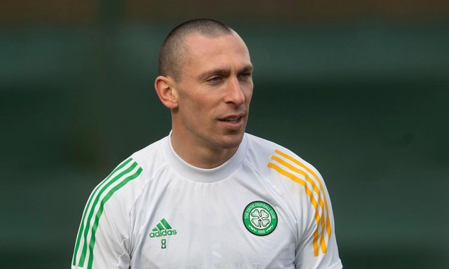 Celtic captain Scott Brown has agreed a deal to join Aberdeen this summer. Picture: SNS