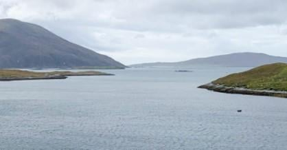 To die for: The View south across West Loch Tarbert