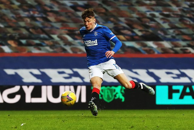 Rangers right-back Nathan Patterson will win his first Scotland cap.