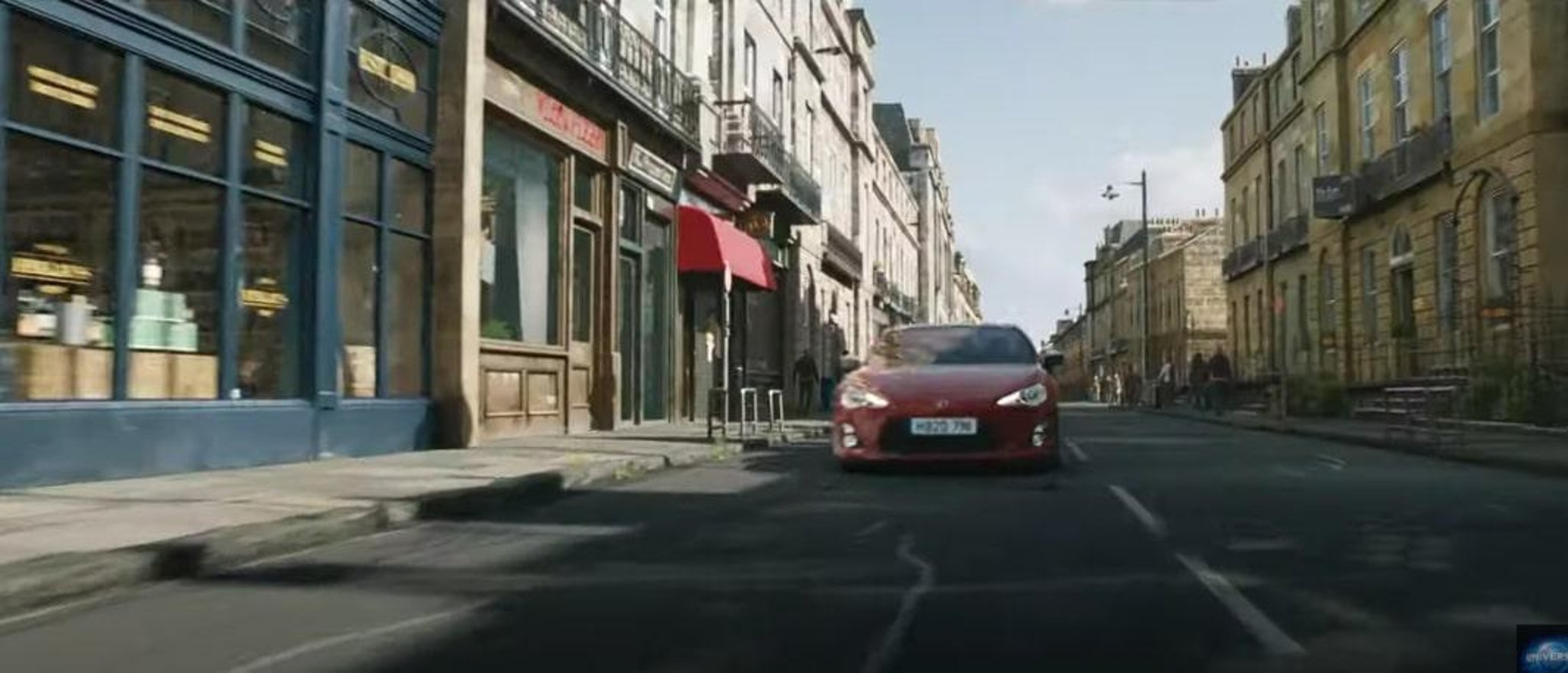 An Edinburgh location features in the Fast and Furious 9 'TOTAL CAR-NAGE'  sneak peek trailer