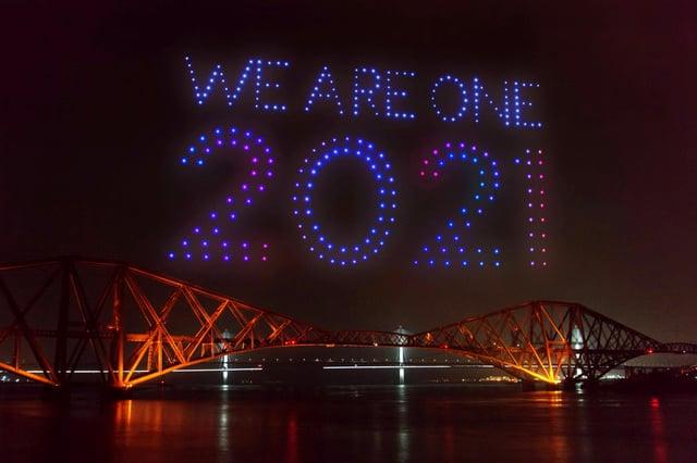 Más de 3,1 millones de personas han visto hasta ahora la encarnación en línea del Festival Hogmanay en Edimburgo.