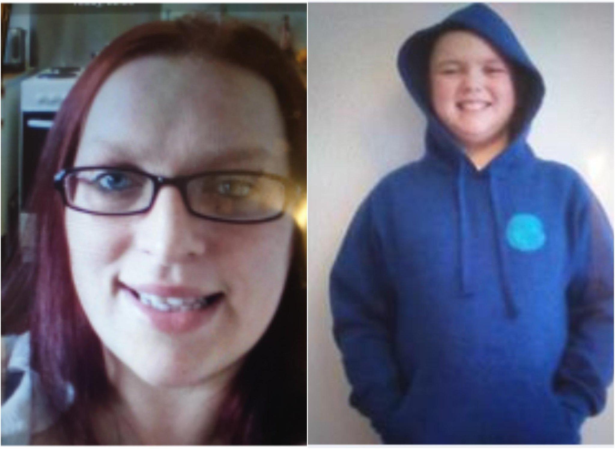 Linda Newlands dan Andrew Baird: Kekhawatiran muncul setelah ibu dan anak hilang dari daerah Dingwall