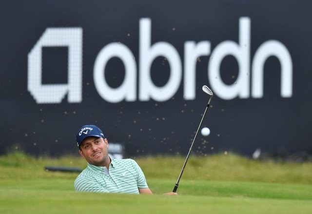 Francesco Molinari in action during this week's abrdn Scottish Open at The Renaissance Club. Picture: Mark Runnacles/Getty Images.
