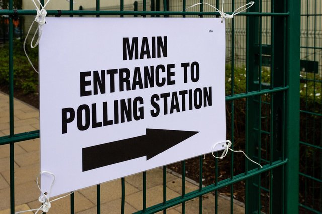 Your poll card will tell you which polling station to go to cast your ballot (Shutterstock)