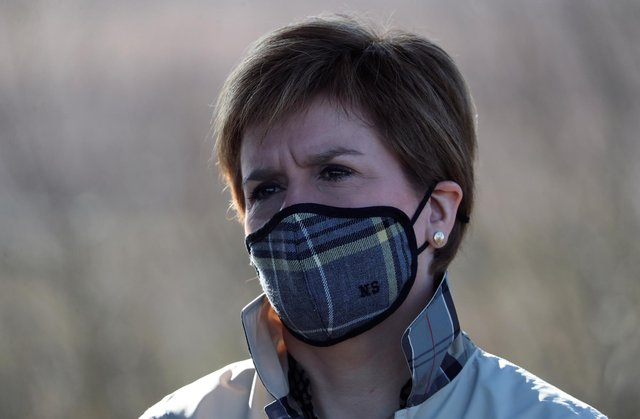 Nicola Sturgeon said it would not be right to speculate when social distancing rules are lifted.