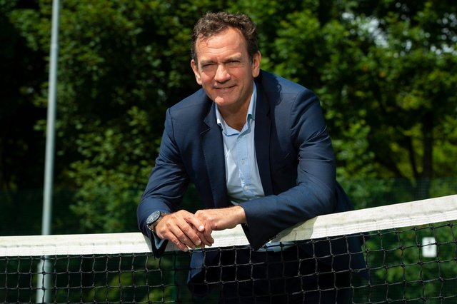 Tennis Scotland chief executive Blane Dodds has been encouraged by the increase in playing numbers.