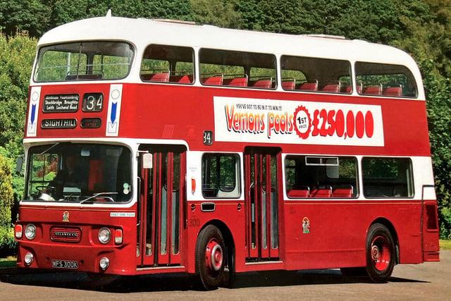 1972 Leyland Atlantean WFS 300 K, cover star of Heritage: Edinburgh's Preserved Buses