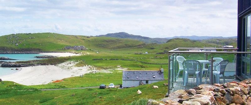 If you need some silence solitude and tranquillity, then try Liosbeag on the Isle of Lewis. Eye-catching sea views await.