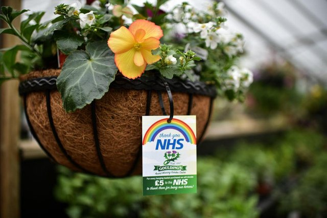 Staff at a garden centre prepare to reopen to the public in May 2020 (Photo: Jeff J Mitchell/Getty Images)