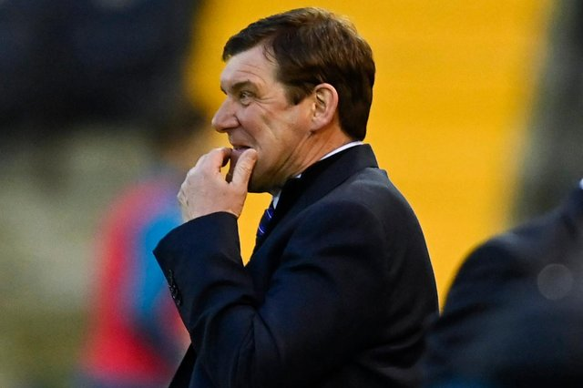 Kilmarnock manager Tommy Wright - not concerned about future  (Photo by Rob Casey / SNS Group)