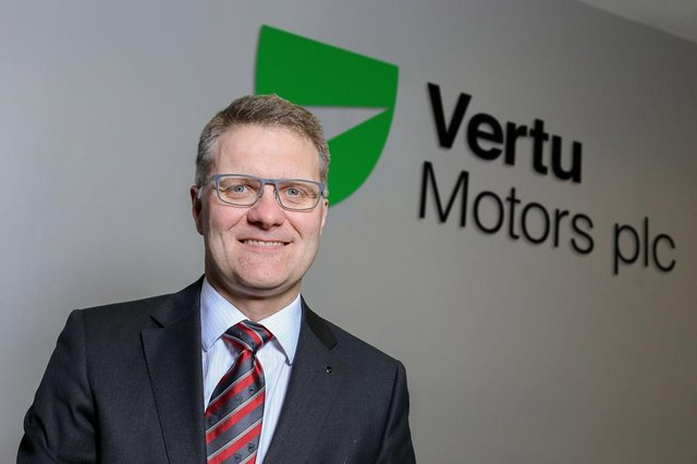 Robert Forrester is the chief executive of Vertu Motors, the car dealership group with 14 Macklin Motors showrooms in Scotland.