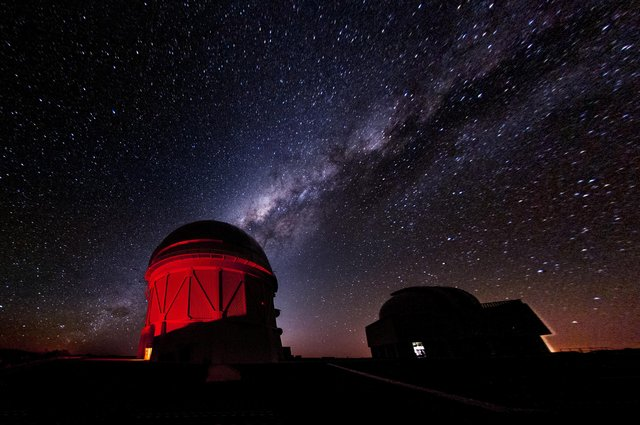 Researchers photographed the night sky using a 570-megapixel Dark Energy Camera on the 4-metre Blanco telescope at the Cerro Tololo Inter-American Observatory in Chile (Photo: Reidar Hahn/Fermilab VMS/PA Media)