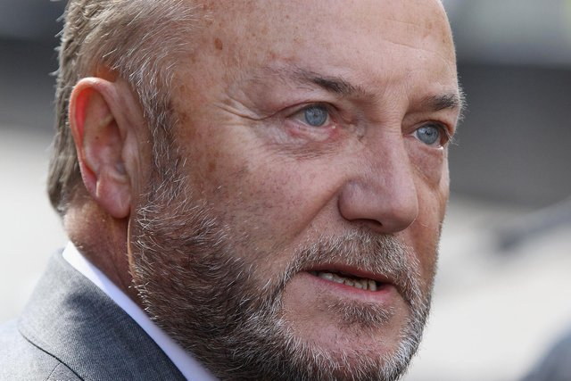 George Galloway. Picture: Oli Scarff/Getty Images