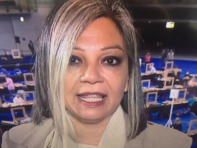 Kaukab Stewart will become the first woman of colour to serve as an MSP in the Scottish Parliament. Pic: BBC