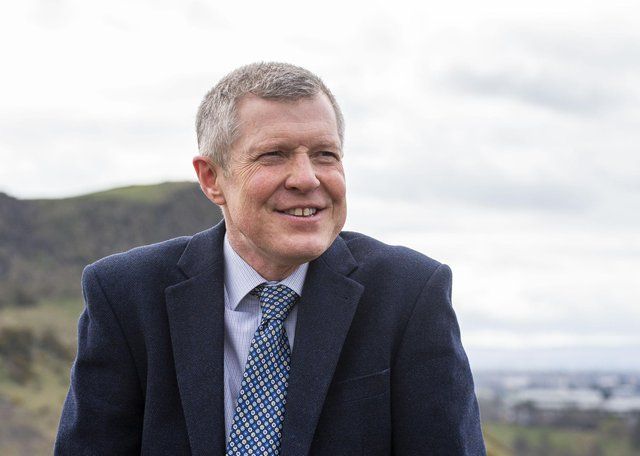 Outgoing Scottish Liberal Democrats leader Willie Rennie. Picture: Lisa Ferguson        Scottish Liberal Democrat Leader Willie Rennie unveils his commitment card ahead of the first TV debate.        Scottish Liberal Democrat Leader Willie Rennie unveils his commitment card ahead of the first TV debate.