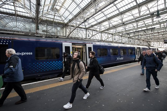 The Scottish Government has been challenged to bring passenger railways back into public ownership