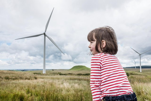 Whitelees Wind Farm on Eaglesham Moor generates enough to power for just under 300,000 homes (Picture: John Devlin)