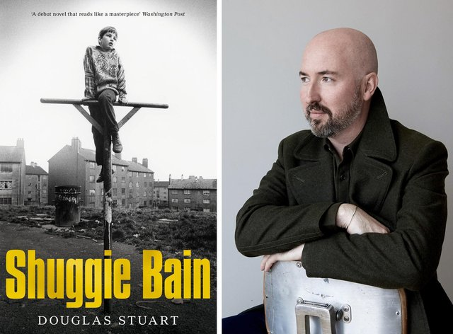 Douglas Stewart was nominated for the Booker Prize with his debut novel, Shuggie Bain. Booker Prize/Clive Smith/PA Wire