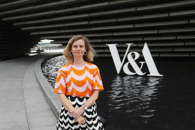 Leonie Bell was appointed the new director of V&A Dundee in July.