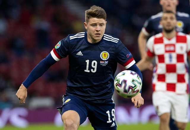 Hibs striker Kevin Nisbet appeared in all three games for Scotland at the Euros. Picture: SNS
