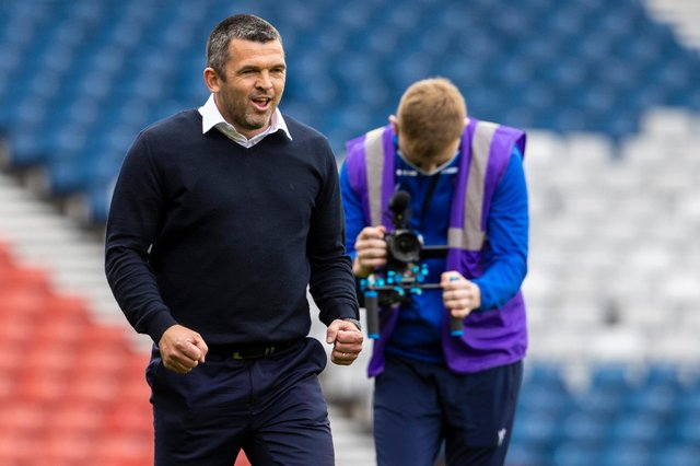 St Johnstone manager Callum Davidson could welcome back up to three players against Livingston (Photo by Alan Harvey / SNS Group)