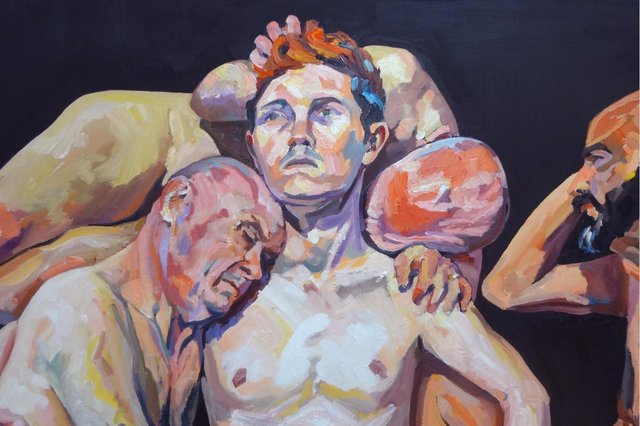 Detail from Quartet, by Angus Reid PIC: Courtesy of the artist
