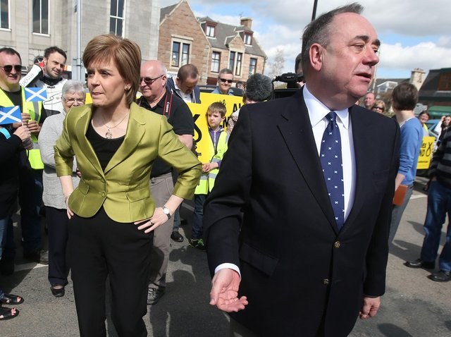 Mediation may have offered a solution to the breakdown in relations between Nicola Sturgeon andAlex Salmond.