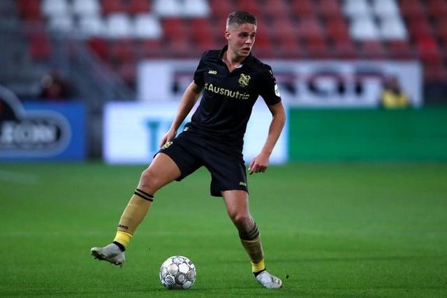 Heerenveen midfielder Joey Veerman is reportedly a target of Rangers. Picture: SNS