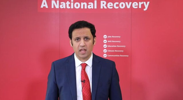 Anas Sarwar focused on education during his first major speech as Scottish Labour leader