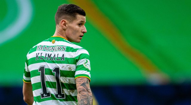 Patryk Klimala is expected to join New York Red Bulls from Celtic. Picture: SNS